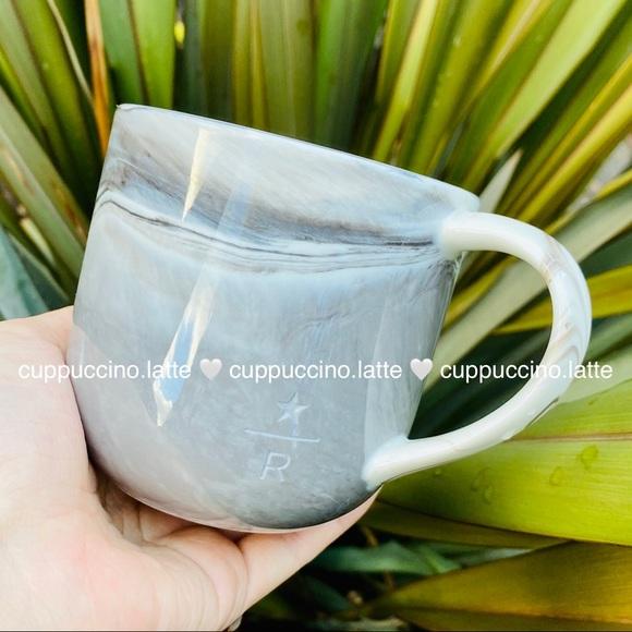 🤍LAST FEW🤍Starbucks Reserve White Marbled Mug